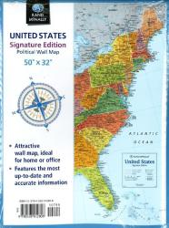 Buy map United States, Signature Series, Folded by Rand McNally from United States Maps Store