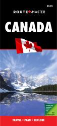 Buy map Canada Quick Fold, Laminated by Route Master from Canada Maps Store