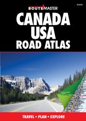 Buy map Canada and United States Road Atlas by Route Master from United States Maps Store