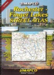 Buy map Rochester and Finger Lanes, New York, Road Atlas by Jimapco