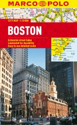 Buy map Boston, Massachusetts by Marco Polo Travel Publishing Ltd