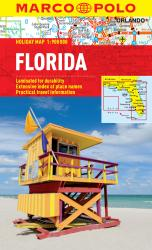 Buy map Florida by Marco Polo Travel Publishing Ltd from Florida Maps Store