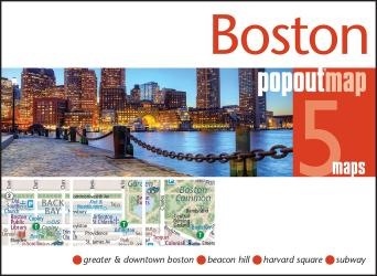 Buy map Boston, MA PopOut Map by PopOut Products