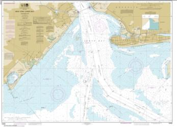 Buy map New York Lower Bay Northern part Nautical Chart (12402) by NOAA from New York Maps Store