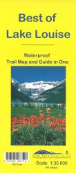 Buy map Lake Louise, Best of by Gem Trek from Alberta Maps Store