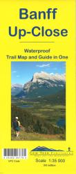 Buy map Banff, Up-Close, waterproof by Gem Trek from Canada Maps Store