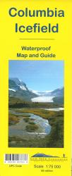 Buy map Columbia Icefield by Gem Trek