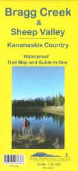 Buy map Bragg Creek,Sheep Valley and Kananaskis Country by Gem Trek from Alberta Maps Store