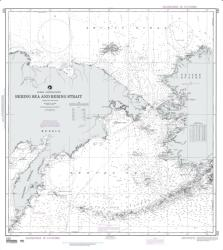 Buy map Bering Sea And Strait (Siberia And Alaska) Nautical Chart (532) by National Geospatial-Intelligence Agency from Alaska Maps Store