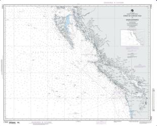 Buy map Strait Of Juan De Fuca To Dixon Entrance Nautical Chart (17003) by National Geospatial-Intelligence Agency from Washington Maps Store
