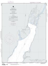 Buy map Stewart - Portland Canal Nautical Chart (17421) by National Geospatial-Intelligence Agency from British Columbia Maps Store