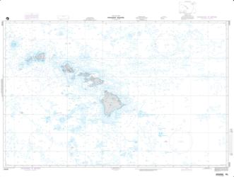 Buy map Hawaiian Islands Nautical Chart (19008) by National Geospatial-Intelligence Agency from United States Maps Store