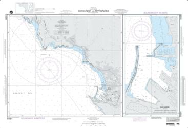 Buy map Bar Harbor And Approches Nautical Chart (54091) by National Geospatial-Intelligence Agency from Maine Maps Store