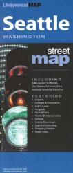 Buy map Seattle, Washington by Kappa Map Group