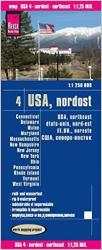 Buy map United States, Northeast by Reise Know-How Verlag from United States Maps Store