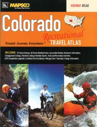 Buy map Colorado, Recreational Travel Atlas by Kappa Map Group from Colorado Maps Store