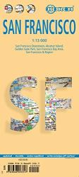 Buy map San Francisco, California by Borch GmbH. from California Maps Store