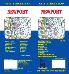 Buy map Newport, Rhode Island by GM Johnson from Rhode Island Maps Store