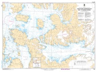 Buy map Jones Sound, Norwegian Bay and Queens Channel by Canadian Hydrographic Service from Canada Maps Store