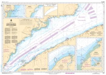 Buy map Pointe des Monts aux/to Escoumins by Canadian Hydrographic Service from Canada Maps Store