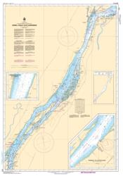 Buy map Sorel-Tracy a/to Varennes by Canadian Hydrographic Service from Canada Maps Store