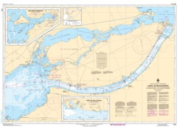 Buy map Canal de Beauharnois by Canadian Hydrographic Service from Canada Maps Store