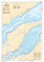 Buy map Lac Saint-Francois/Lake St. Francis; B-C by Canadian Hydrographic Service from Canada Maps Store