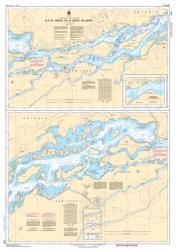 Buy map Ile St. Regis to/a Croil Islands by Canadian Hydrographic Service from Canada Maps Store