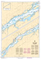 Buy map Croil Islands to/a Cardinal by Canadian Hydrographic Service from Canada Maps Store