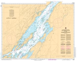 Buy map Whaleback Shoal to/au Summerland Group by Canadian Hydrographic Service from Canada Maps Store