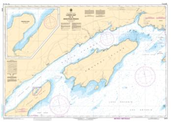 Buy map Lower Gap to/a Adolphus Reach by Canadian Hydrographic Service from Canada Maps Store