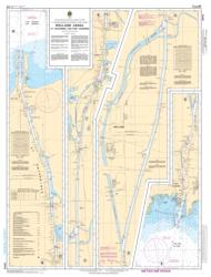 Buy map Welland Canal St. Catharines to/a Port Colborne by Canadian Hydrographic Service from Canada Maps Store