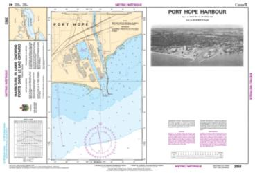 Buy map Port Hope Harbour by Canadian Hydrographic Service from Canada Maps Store