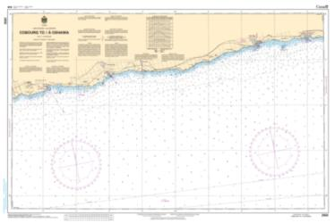 Buy map Cobourg to/a Oshawa by Canadian Hydrographic Service from Canada Maps Store