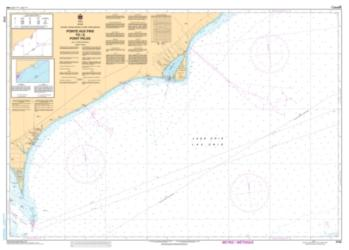 Buy map Pointe aux Pins to/a Point Pelee by Canadian Hydrographic Service from Canada Maps Store