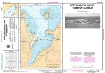 Buy map Port McNicoll and/et Victoria Harbour by Canadian Hydrographic Service from Canada Maps Store