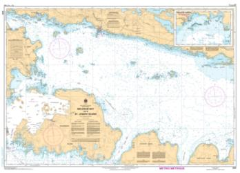 Buy map Meldrum Bay to/a St. Joseph Island by Canadian Hydrographic Service from Canada Maps Store