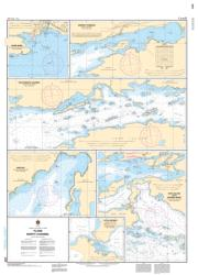 Buy map Plans North Channel by Canadian Hydrographic Service from Canada Maps Store