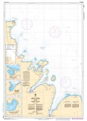 Buy map Owen Sound to/a Cabot Head by Canadian Hydrographic Service from Canada Maps Store