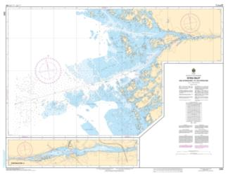 Buy map Byng Inlet and Approaches/et les Approches by Canadian Hydrographic Service from Canada Maps Store