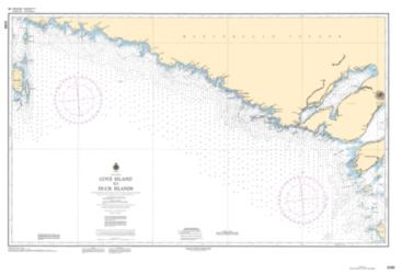 Buy map Cove Island to Duck Islands by Canadian Hydrographic Service from Canada Maps Store