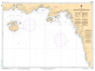 Buy map Oiseau Bay to/a Jackfish Bay by Canadian Hydrographic Service from Canada Maps Store