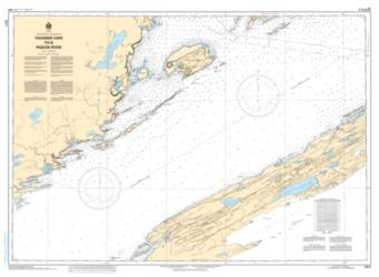 Buy map Thunder Cape to/a Pigeon River by Canadian Hydrographic Service from Canada Maps Store