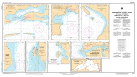 Buy map Harbours on the East Shore of Lake Superior by Canadian Hydrographic Service from Canada Maps Store