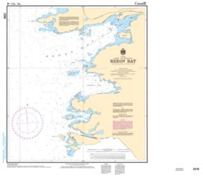 Buy map Heron Bay by Canadian Hydrographic Service from Canada Maps Store
