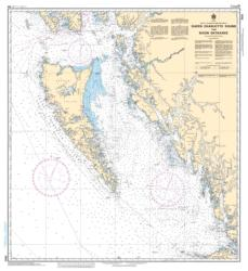 Buy map Queen Charlotte Sound to/a Dixon Entrance by Canadian Hydrographic Service from Canada Maps Store