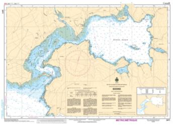 Buy map Sooke by Canadian Hydrographic Service from Canada Maps Store