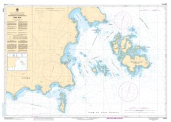 Buy map Approaches to/Approches a Oak Bay by Canadian Hydrographic Service from Canada Maps Store