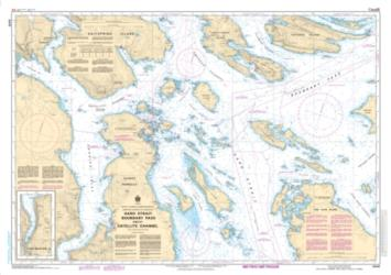 Buy map Haro Strait, Boundary Pass and/et Satellite Channel by Canadian Hydrographic Service from Canada Maps Store