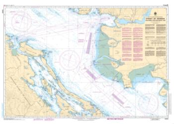 Buy map Strait of Georgia, Southern Portion/Partie Sud by Canadian Hydrographic Service from Canada Maps Store